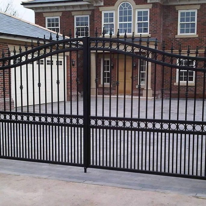 steel design fabrication automated gates