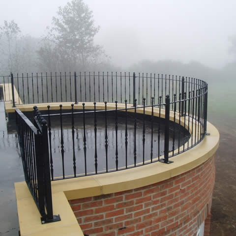 Steel design fabrication balconies