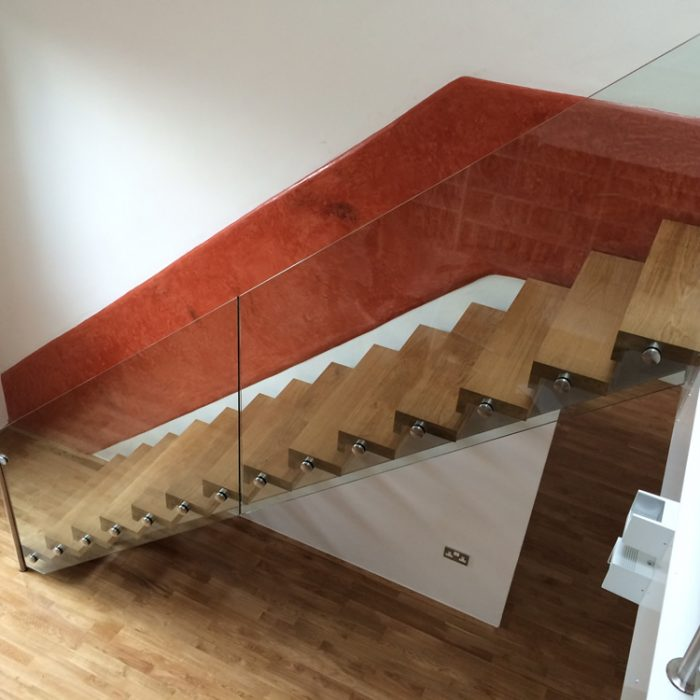 Steel design fabrication stairs