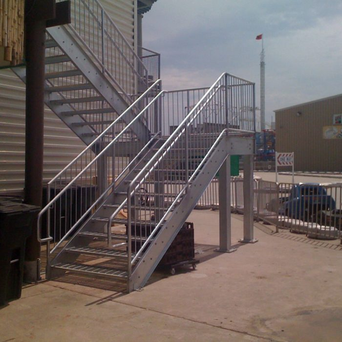 Fire Escapes by Steel Design Fabrication